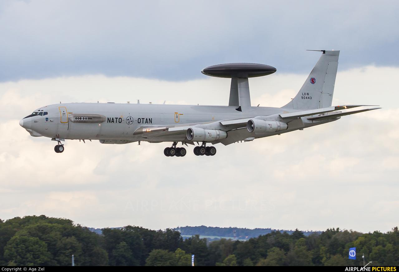 NATO LX-N90443 aircraft at Ostrava Mošnov