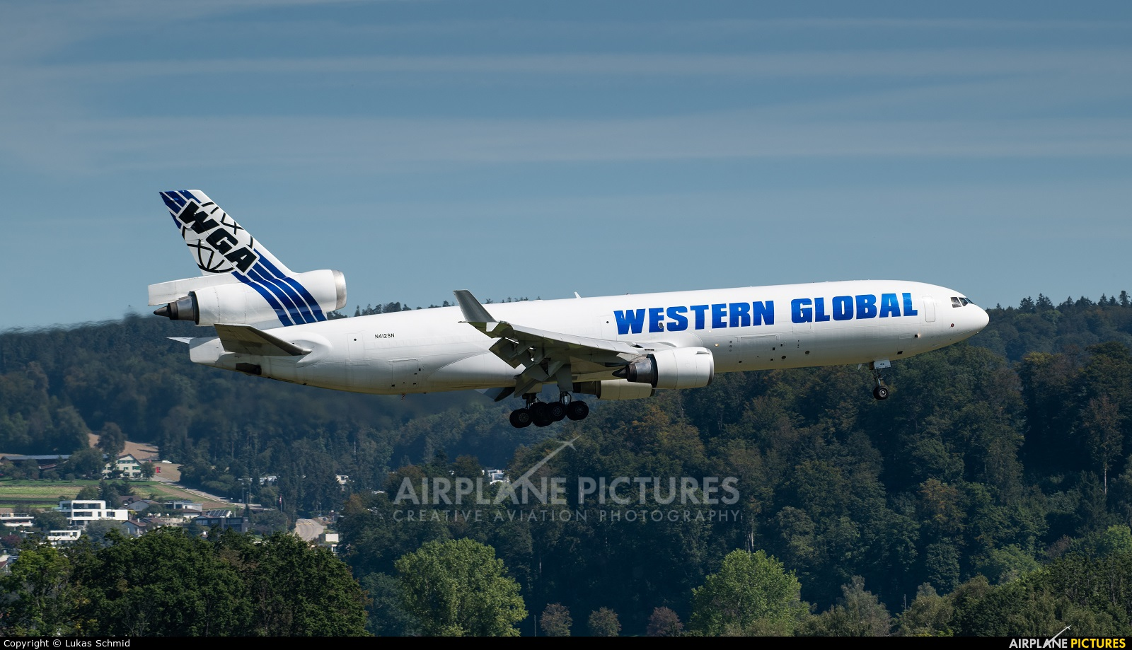 Western Global Airlines N412SN aircraft at Zurich