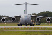 USAF Boeing C-17 visited Volkel Air Base title=