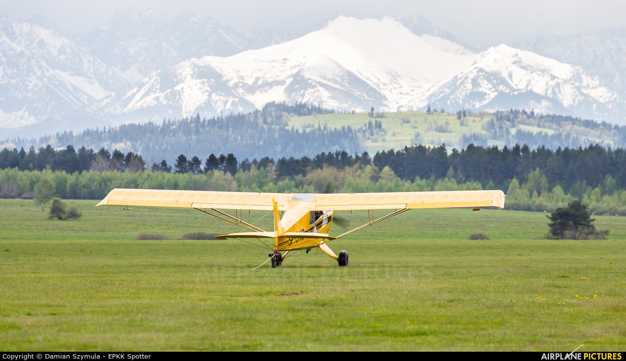 Aeroklub Nowy Targ SP-OKO aircraft at Nowy Targ