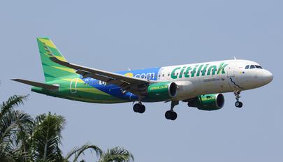 PK-GLZ - Citilink Airbus A320