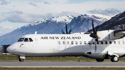 ZK-MVK - Air New Zealand Link - Mount Cook Airline ATR 72 (all models)