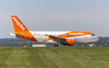 G-EZBV - easyJet Airbus A319