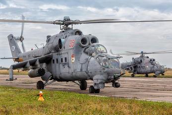 RF-34208 - Russia - Navy Mil Mi-24VP