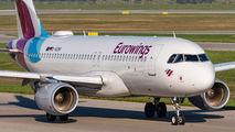 D-AEWV - Eurowings Airbus A320 aircraft