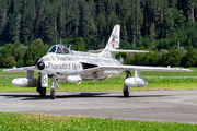 HB-RVS - Switzerland - Air Force Hawker Hunter F.58 aircraft
