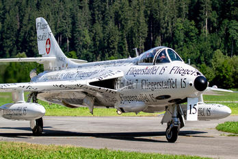 HB-RVS - Switzerland - Air Force Hawker Hunter F.58