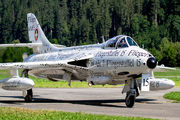 HB-RVS - Switzerland - Air Force Hawker Hunter F.58 aircraft