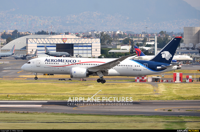 Aeromexico N782AM aircraft at Mexico City - Licenciado Benito Juarez Intl