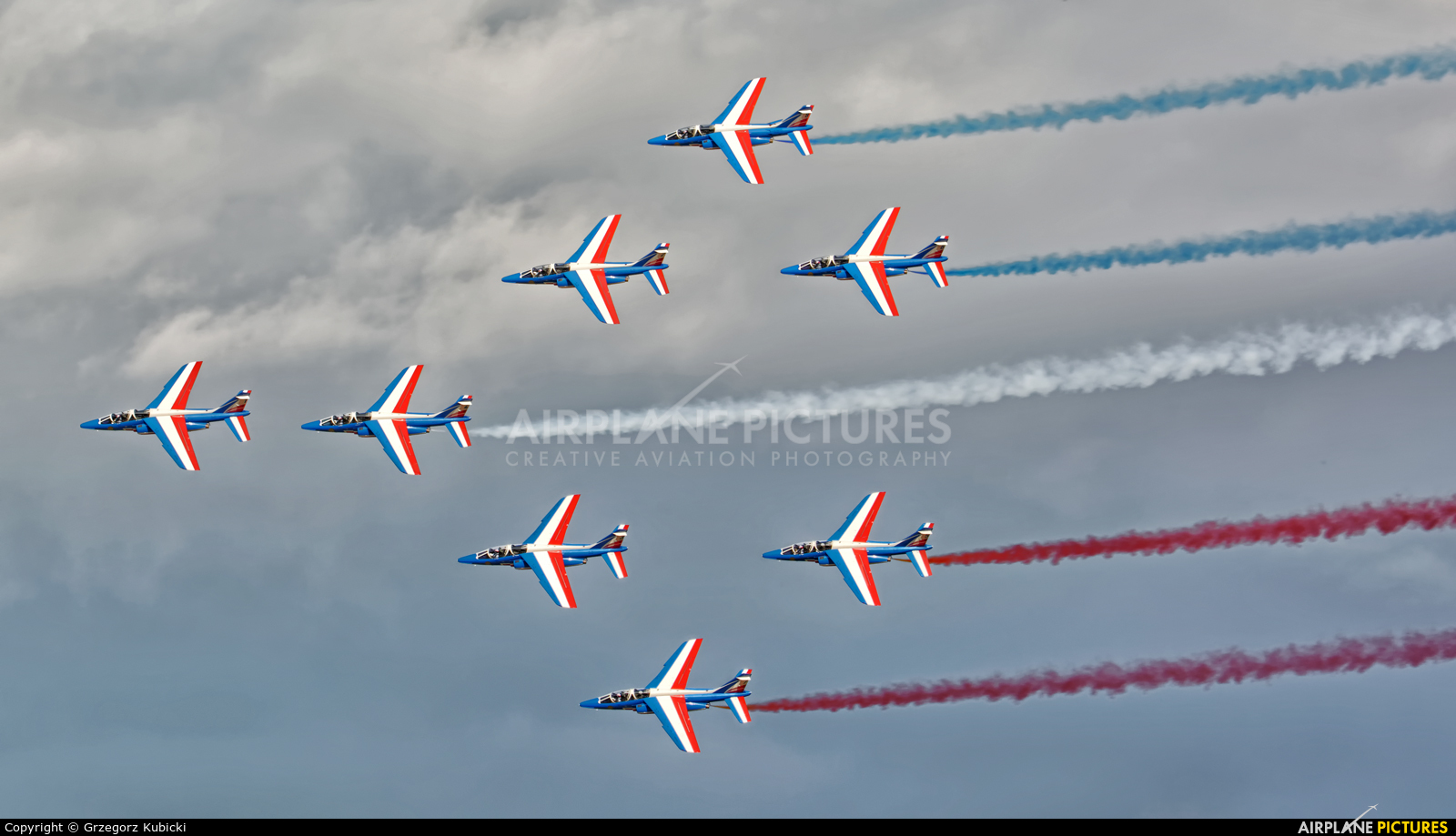 "France - Air Force ""Patrouille de France"" - aircraft at Ostrava Mošnov"