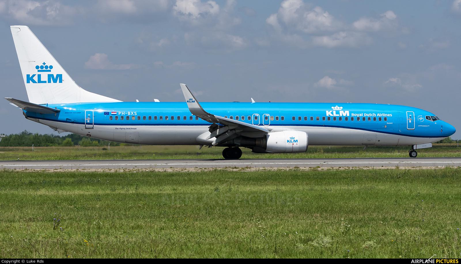 KLM PH-BXS aircraft at Bucharest - Henri Coandă