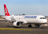 TC-LSF - Turkish Airlines Airbus A321 NEO aircraft