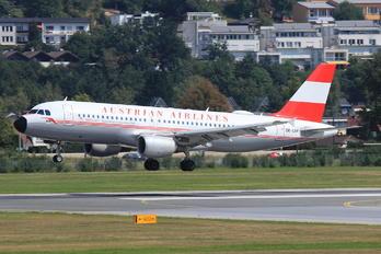 OE-LBP - Austrian Airlines/Arrows/Tyrolean Airbus A320