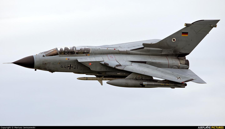 Germany - Air Force 44+21 aircraft at Ostrava Mošnov
