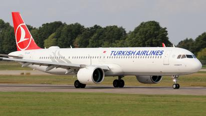 TC-LSF - Turkish Airlines Airbus A321 NEO