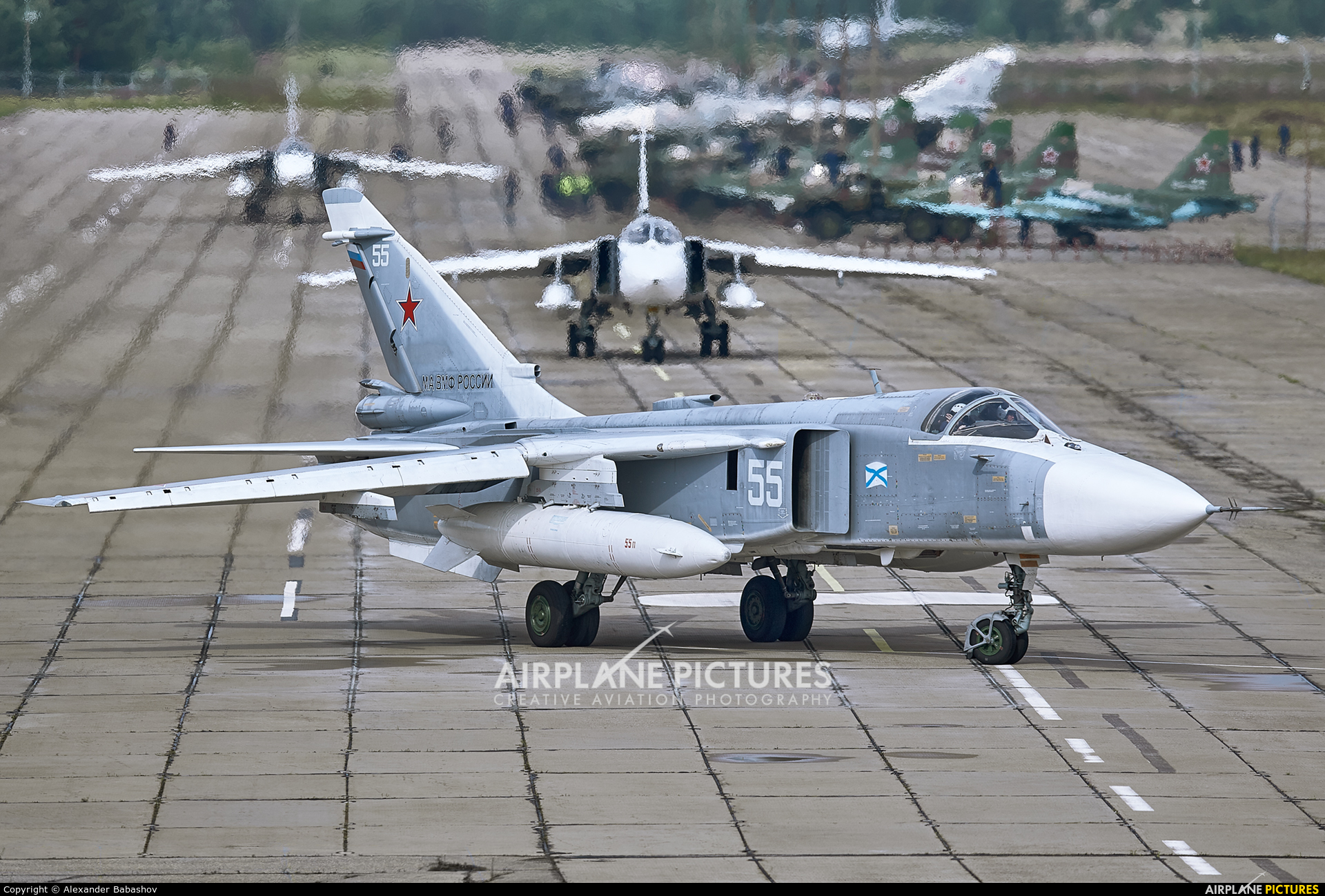 Russia - Navy 55 aircraft at Undisclosed Location