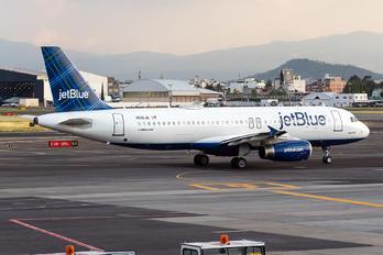 N516JB - JetBlue Airways Airbus A320