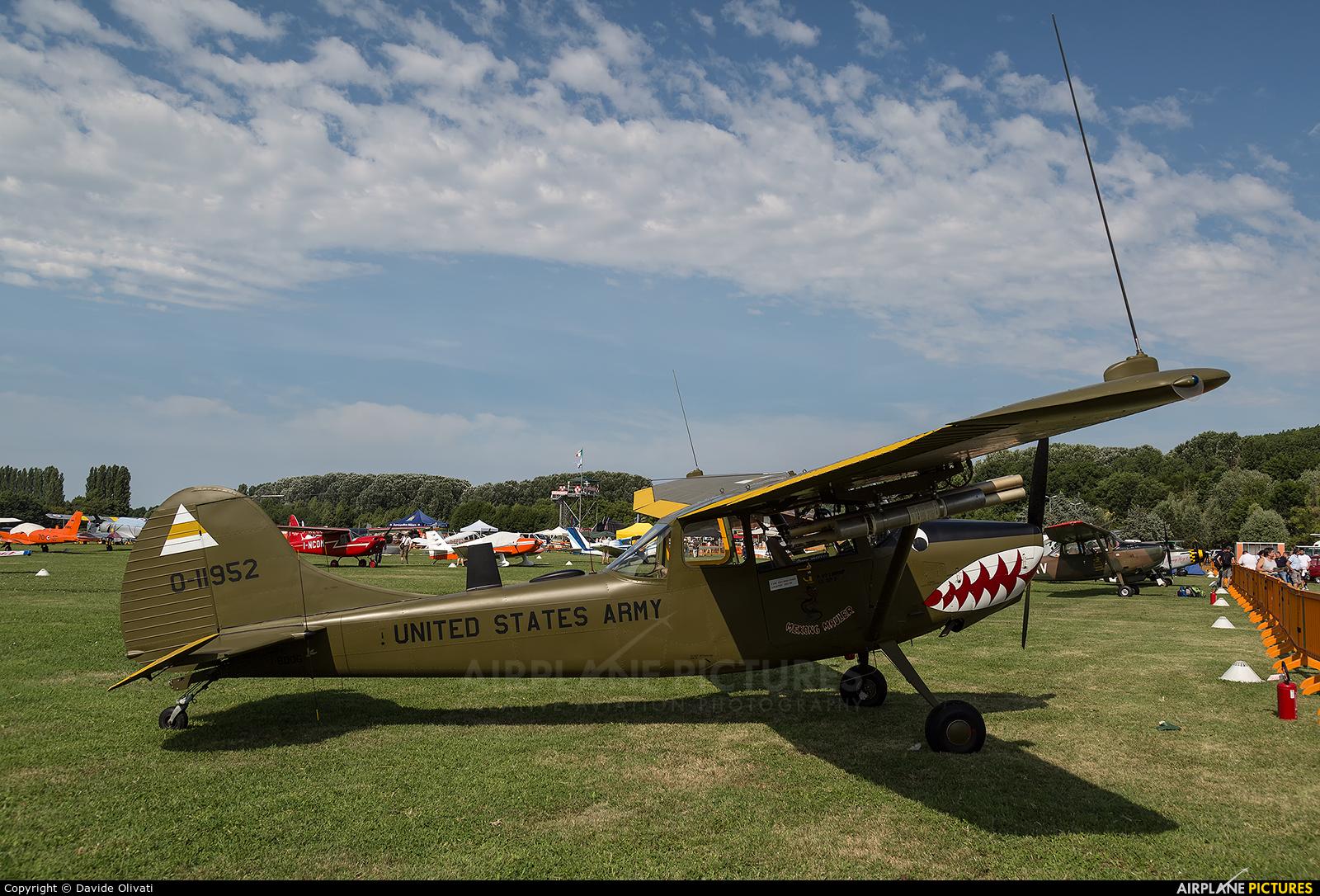 Private I-BDOG aircraft at Montagnana
