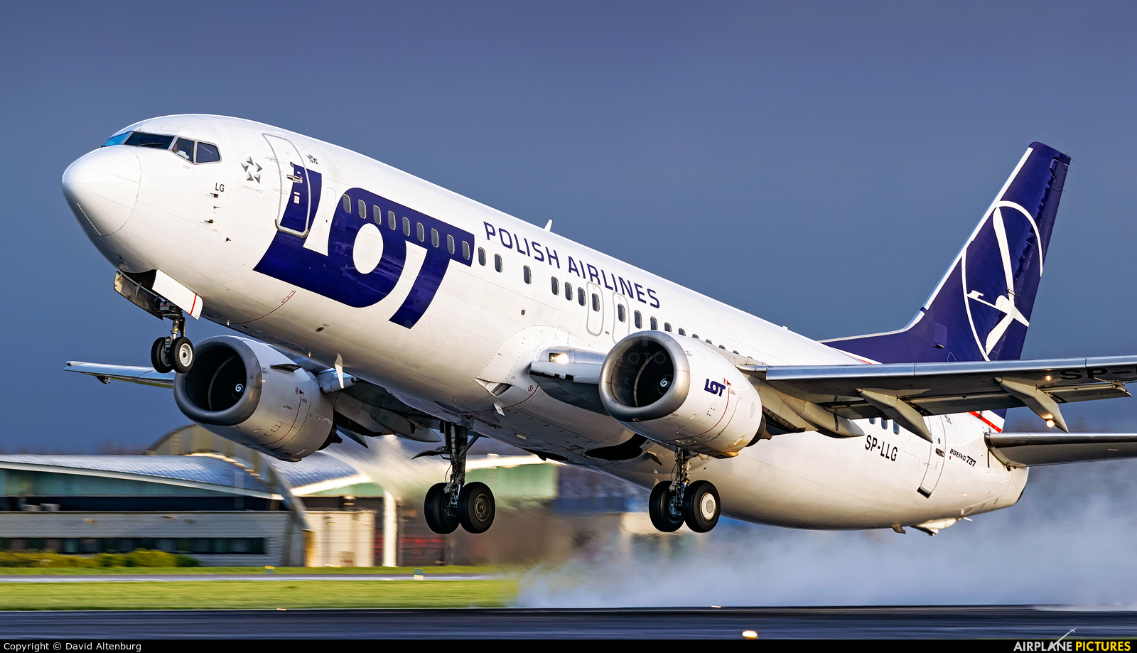 LOT - Polish Airlines SP-LLG aircraft at Amsterdam - Schiphol