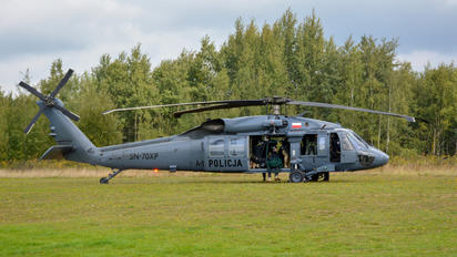 SN-70XP - Poland - Police Sikorsky S-70A Black Hawk