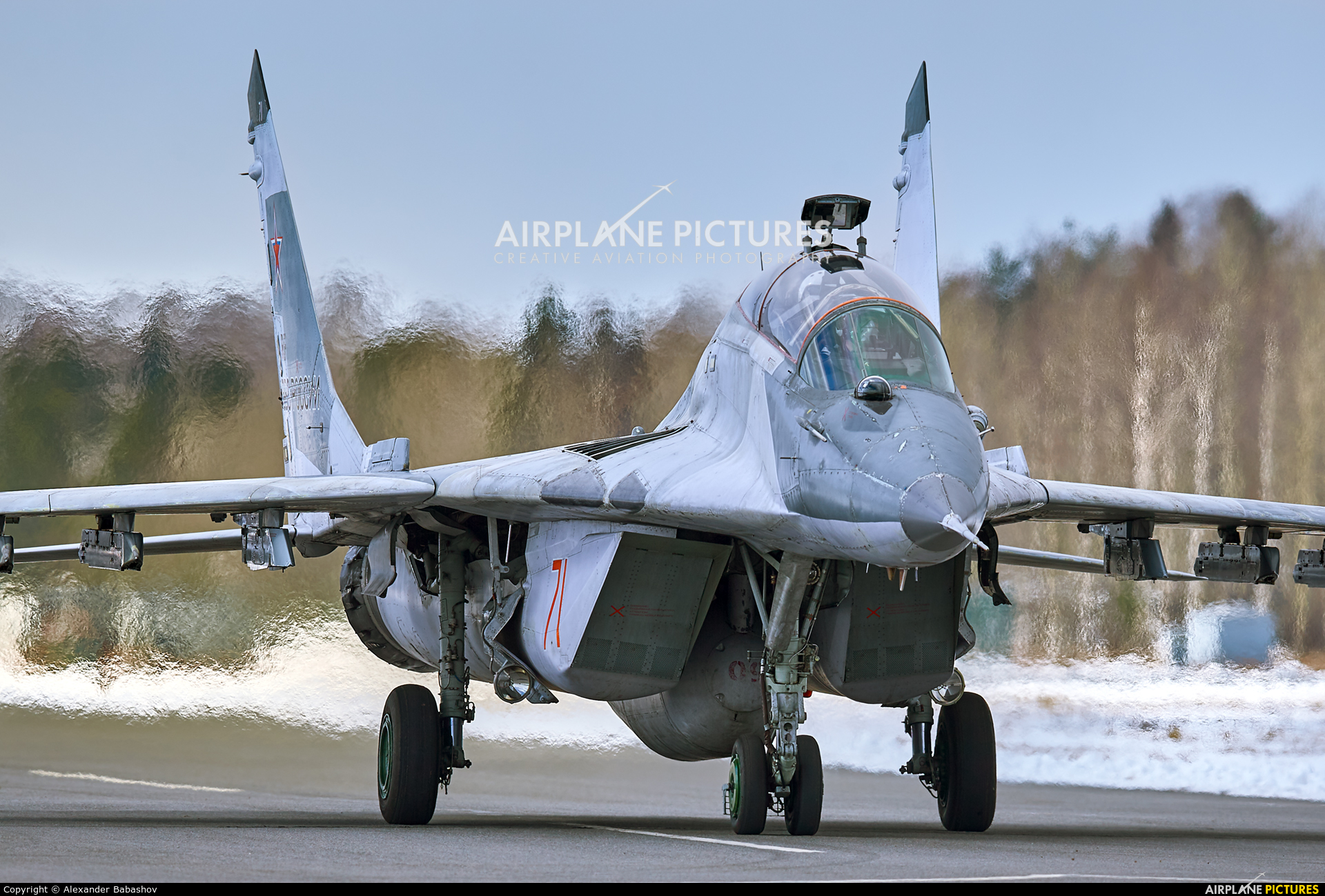 Russia - Air Force 71 aircraft at Undisclosed Location