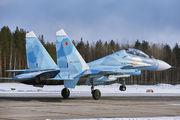 80 - Russia - Air Force Sukhoi Su-30SM aircraft