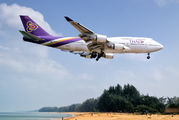 HS-TGO - Thai Airways Boeing 747-400D aircraft