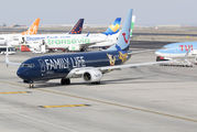 OO-JAF - TUI Airlines Belgium Boeing 737-800 aircraft
