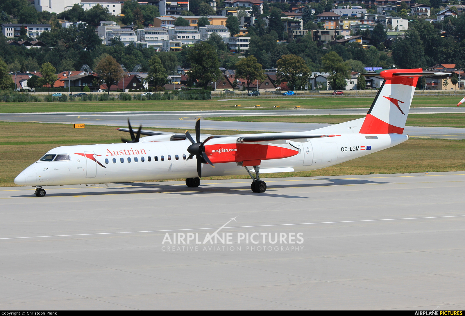 Austrian Airlines/Arrows/Tyrolean OE-LGM aircraft at Innsbruck