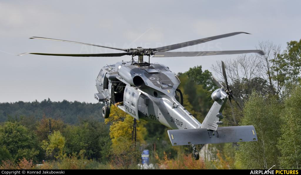 Poland - Police SN-70XP aircraft at Off Airport - Poland