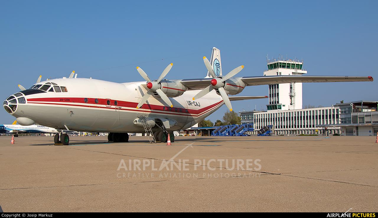 Ukraine Air Alliance UR-CAJ aircraft at Zagreb