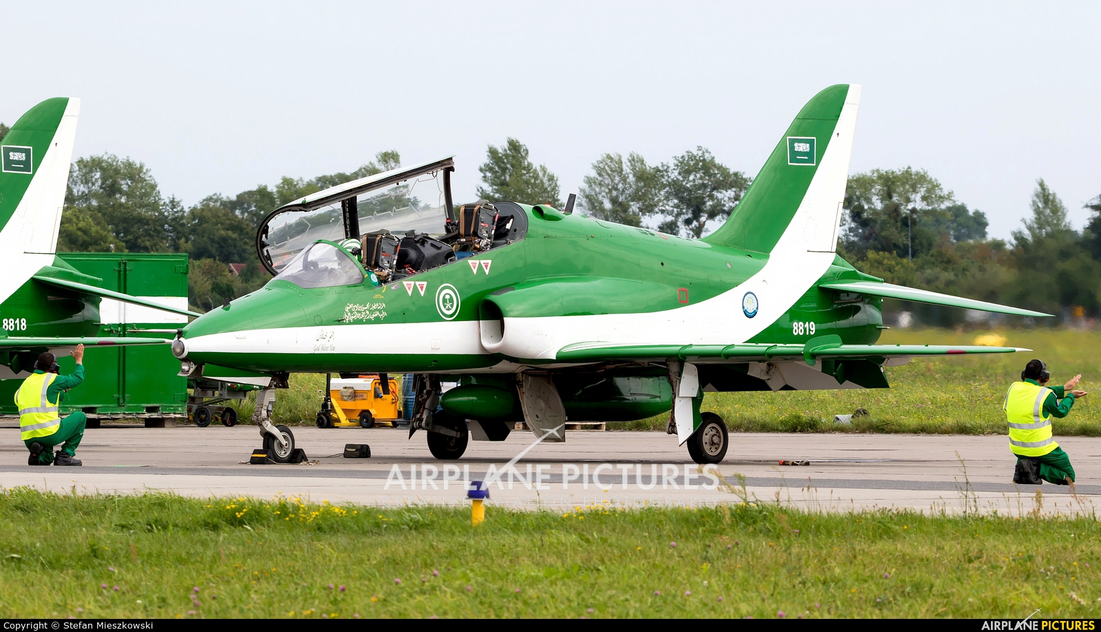 Saudi Arabia - Air Force: Saudi Hawks 8819 aircraft at Gdynia- Babie Doły (Oksywie)
