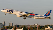 SP-LNB - LOT - Polish Airlines Embraer ERJ-195 (190-200) aircraft