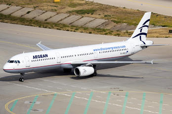 SX-DNG - Aegean Airlines Airbus A321