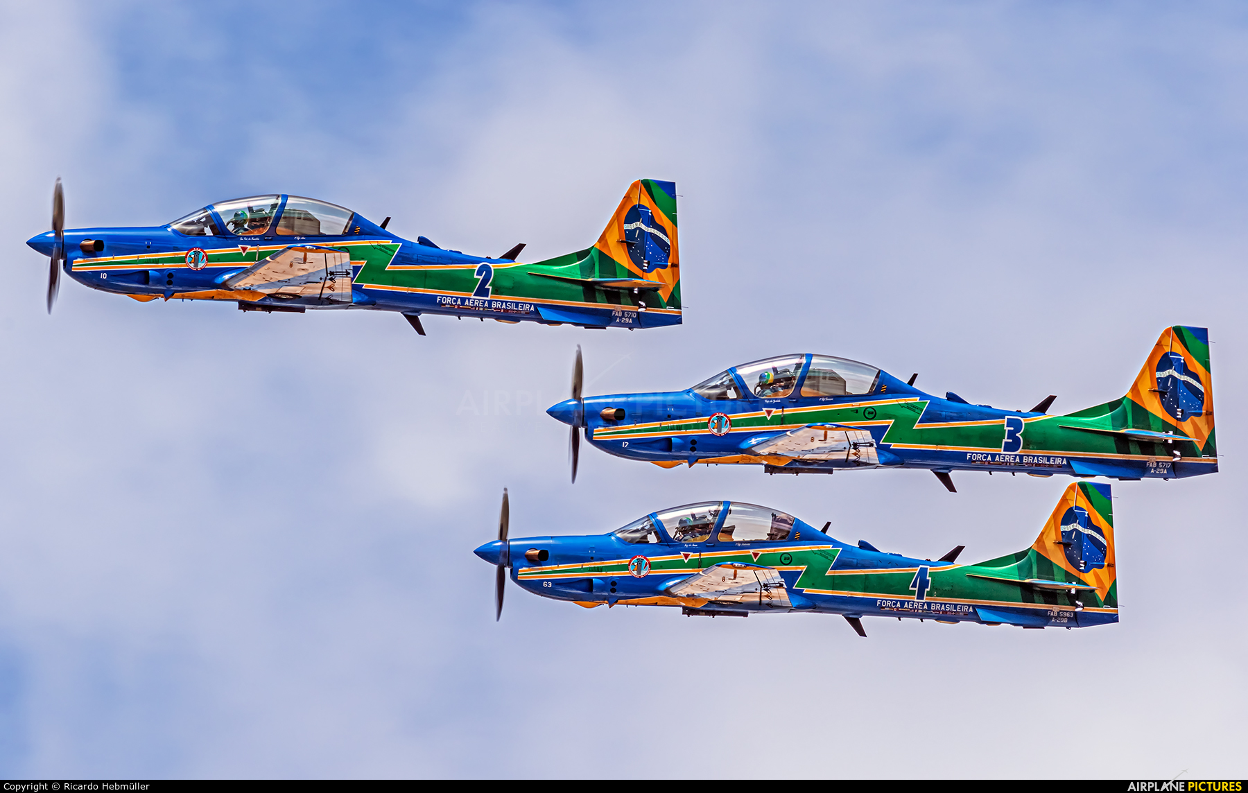 "Brazil - Air Force ""Esquadrilha da Fumaça"" 5710 aircraft at Brasília - Presidente Juscelino Kubitschek Intl"