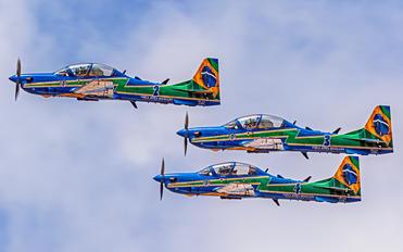 """5710 - Brazil - Air Force """"Esquadrilha da Fumaça"""" Embraer EMB-314 Super Tucano A-29A"""