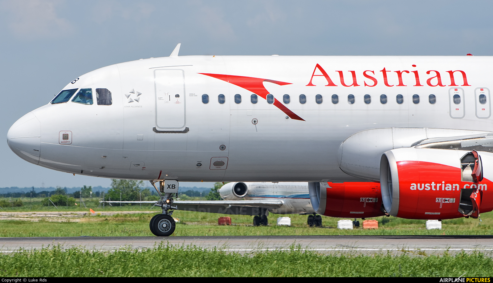Austrian Airlines/Arrows/Tyrolean OE-LXB aircraft at Bucharest - Henri Coandă