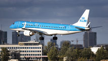PH-EZN - KLM Cityhopper Embraer ERJ-175 (170-200) aircraft