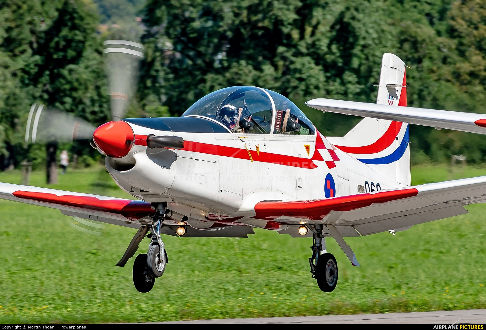 Croatia - Air Force 068 aircraft at Mollis