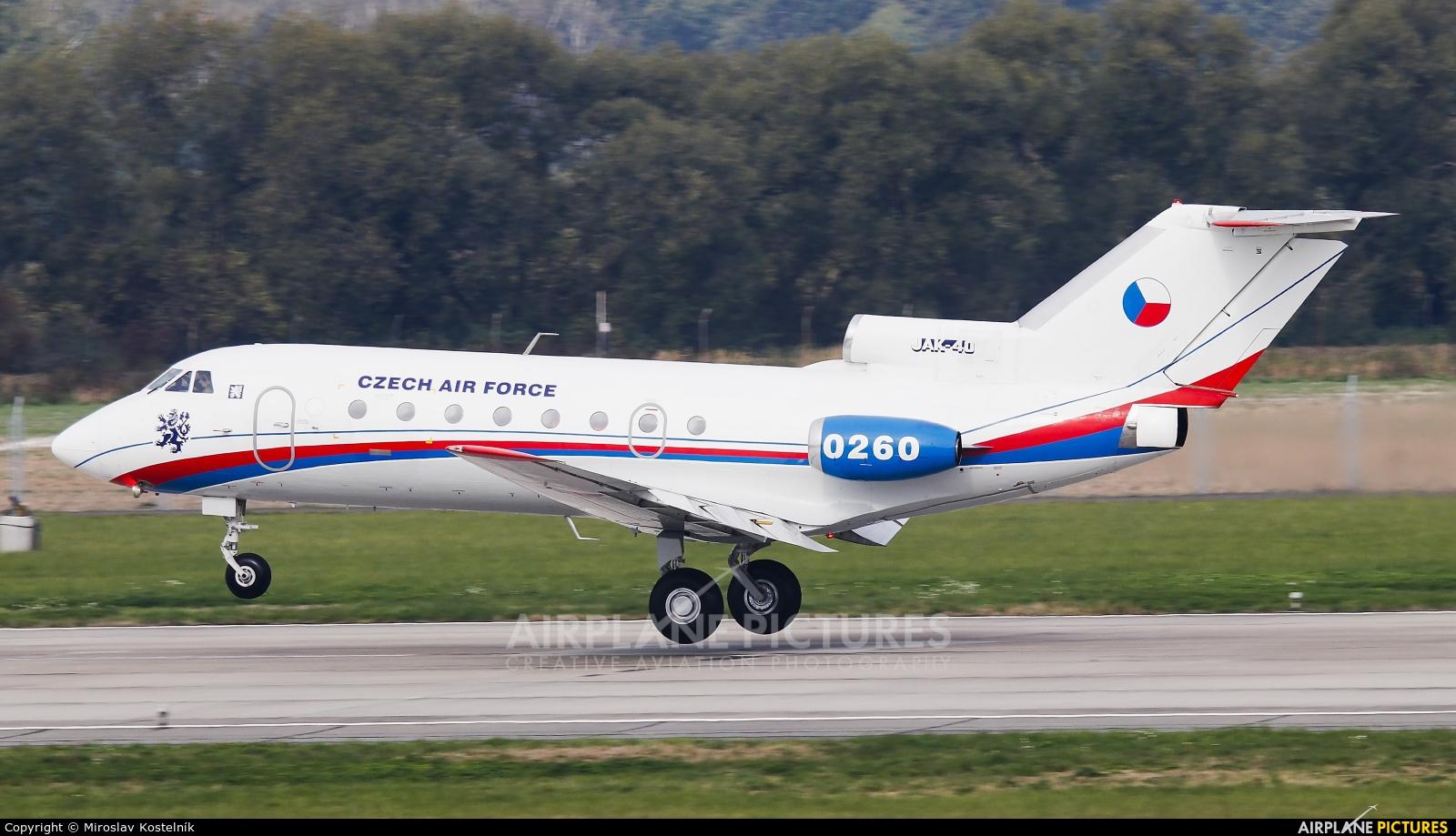 Czech - Air Force 0260 aircraft at Ostrava Mošnov