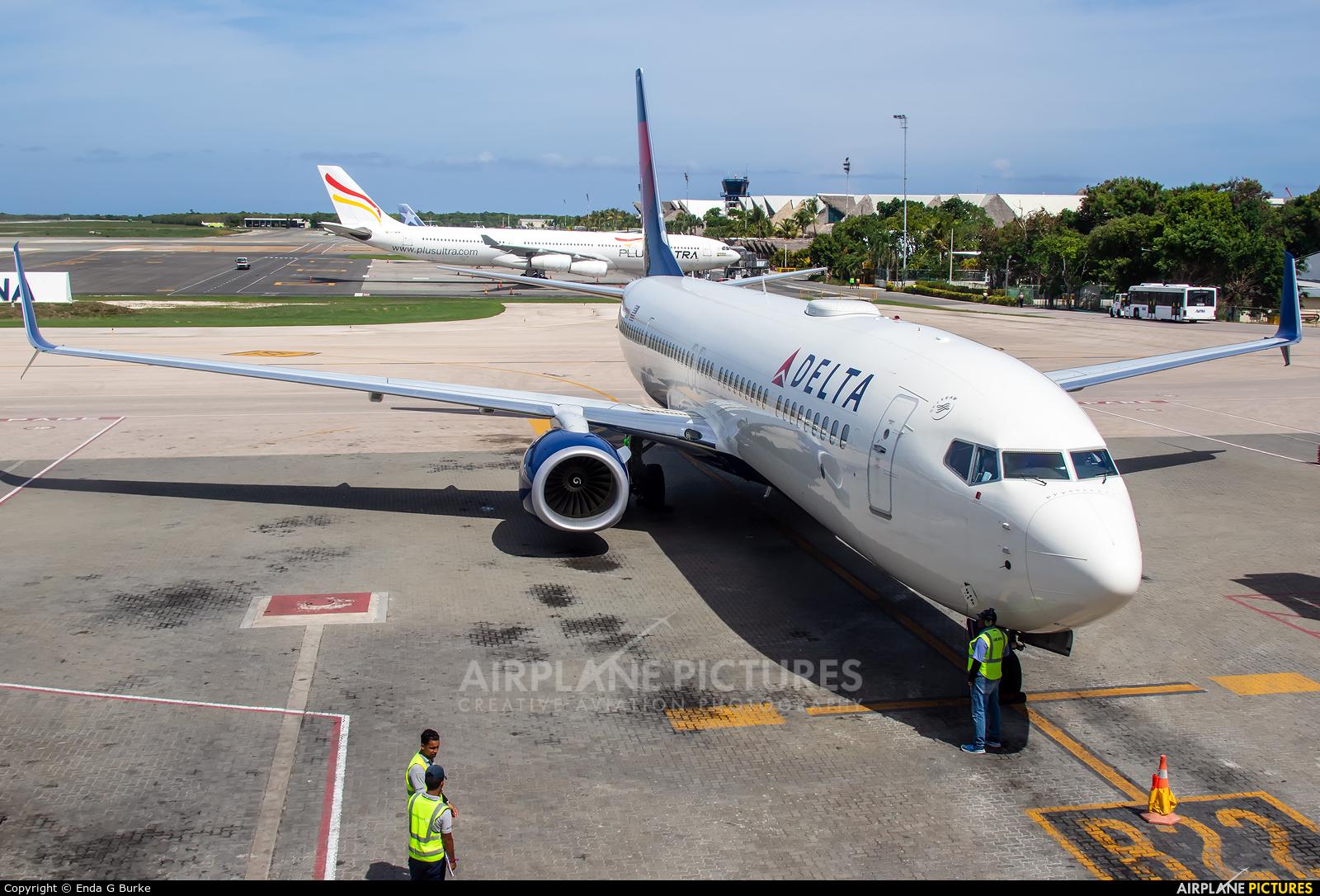 Delta Air Lines N919DU aircraft at Punta Cana