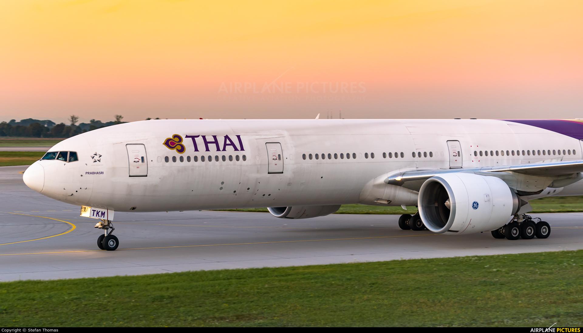 Thai Airways HS-TKM aircraft at Munich