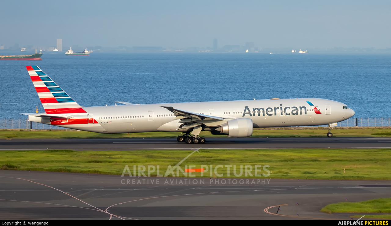 American Airlines N731AN aircraft at Tokyo - Haneda Intl