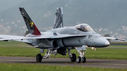 J-5017 - Switzerland - Air Force McDonnell Douglas F-18C Hornet