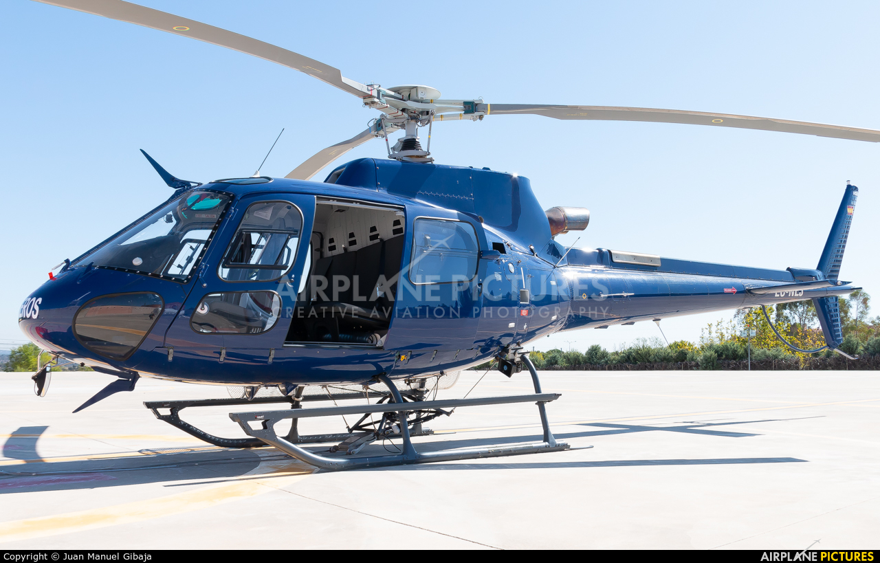 Eliance EC-NEJ aircraft at Off Airport - Spain
