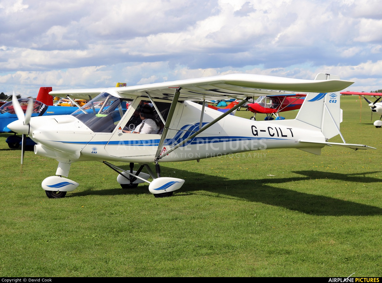 Private G-CILT aircraft at Northampton / Sywell