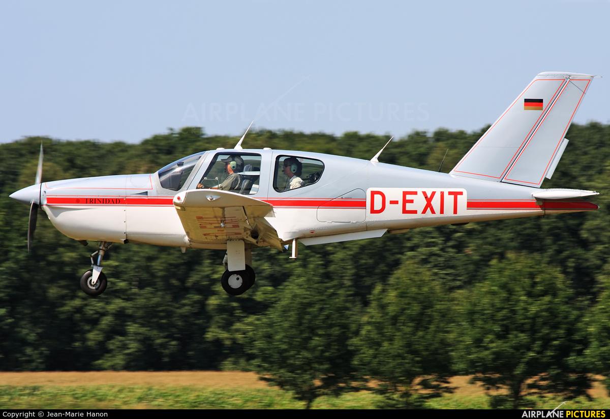 Private D-EXIT aircraft at Diest Schaffen