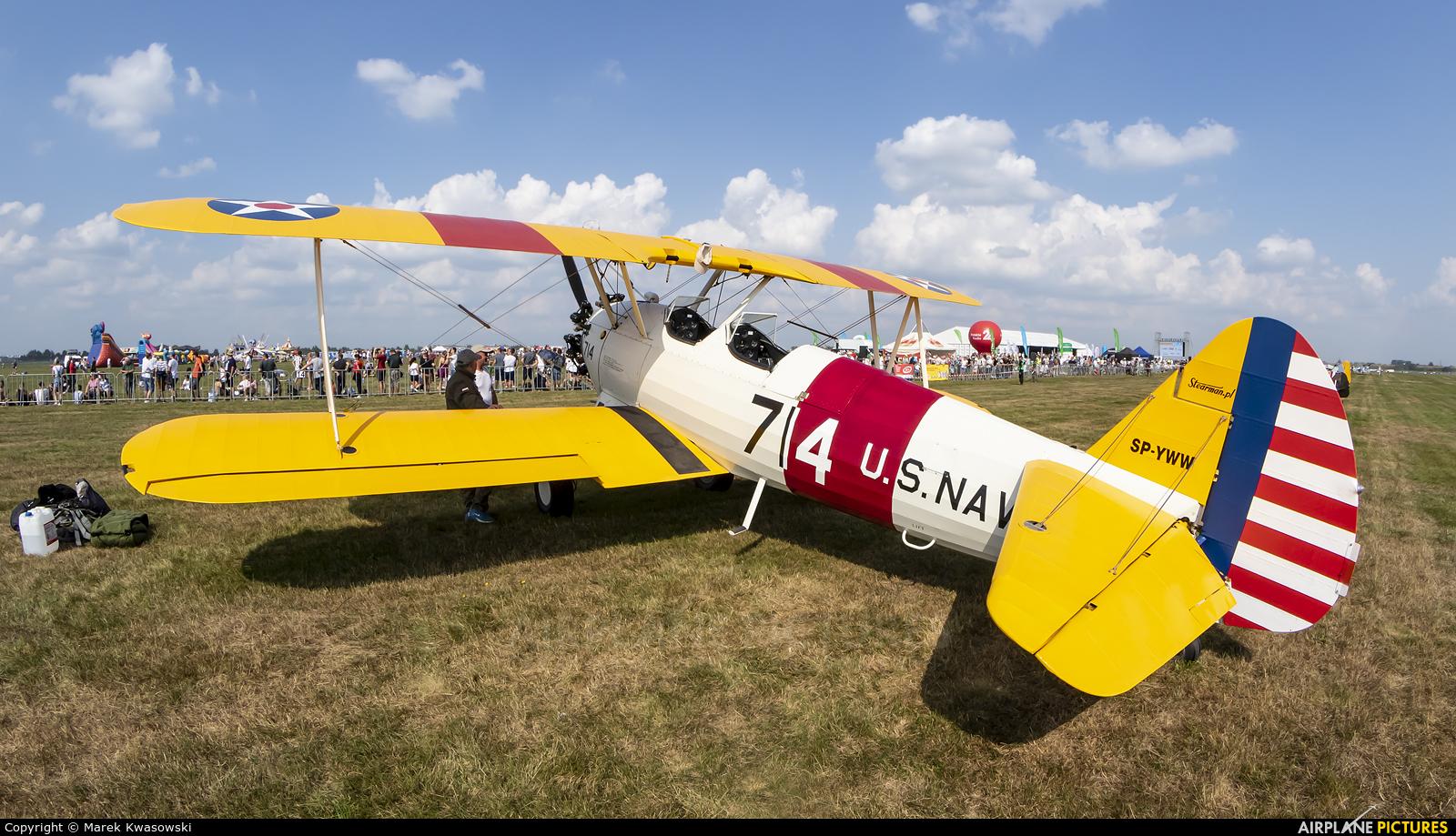Private SP-YWW aircraft at Rzeszów-Jasionka