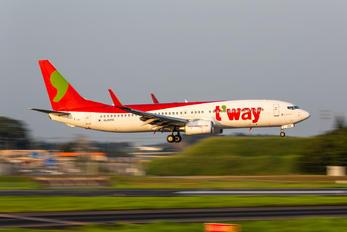 HL8056 - T'Way Air Boeing 737-800