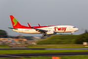 HL8056 - T'Way Air Boeing 737-800 aircraft